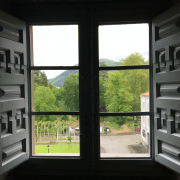 View from within Loyola Castle